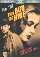 THIS GUN FOR HIRE (Universal Film Noir) DVD NEW! Alan Ladd Veronica Lake