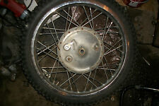 1974 Kawasaki Triple S3F S3 400 KH400 KH 400 rear back rim wheel