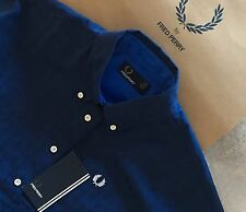 FRED PERRY ladies Houndstooth Polo shirt size  8 BNWT