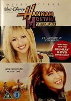Hannah Montana - The Movie (DVD, 2009) Like New