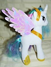 Hasbro My Little White Pony Blue, Purple Pink hair 9""
