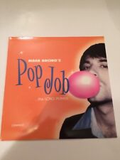 Mark Bacino- Pop Job The Long Player LP - Parasol Records -Play Graded -Bacino's
