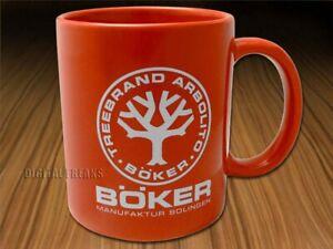 Boker Tree Brand Red Ceramic 10.4 Ounce Coffee Mug 09BO180
