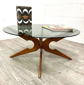 Vintage Danish Teak 'Spider' Coffee Table by Vladimir Kagan for Sika Mobler,