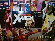 uncanny X-men Comic Lot 1-15 vf+ bagged 2011-2012