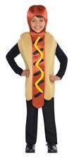 Kids Hot Dog Costume Fancy Dress Food Funny Comedy Tunic Standard Amscan