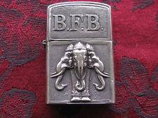 Vintage Siam (Thailand) Sterling Silver Lighter w/Zippo Insert