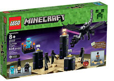 LEGO MINECRAFT -THE ENDER DRAGON 21117 - NEW SEALED BOX