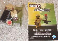 G.i. Joe Kreo CARL DOC GREEN Figure New Misp Kreon Kre-o Micro Changers