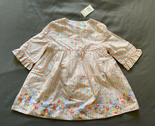 Baby Girl 18-24 Month Baby Gap Multicolor Floral Striped Spring Dress & Bloomers
