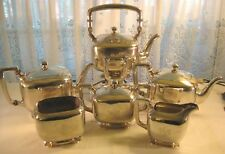 Frank Smith Sterling ~ TEA COFFEE POT & KETTLE SET ~ 6 Pc Silver Set 3,592 grams