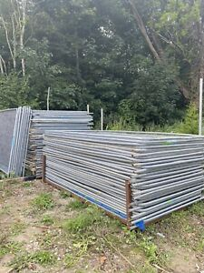 Temporary heras Site fencing , Tree Protection