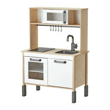 Ikea DUKTIG Childrens UniSex Wooden Mini Play Kitchen, 3 Adjustable Heights