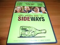 Sideways (DVD, 2009, Widescreen) Paul Giamatti