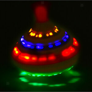 1x Spinning Top Toy & Music Magic LED Flash Toy Light Up Spinner  Kids