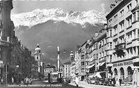 B48039 Innsbruck Maria Theresienstrasse mit Nordkette tramway   austria