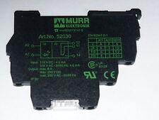 Murr Electronik 52030 Micro 6.2 Output Relay, 110V-1U, 6652030, New