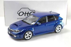 1:18 OTTO mobile OT250 Subaru Impreza WRX STI 2008 blue