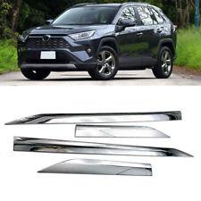 Chrome Car Side Door Molding Trim Cover Protecter For Toyota RAV4 2019 2020