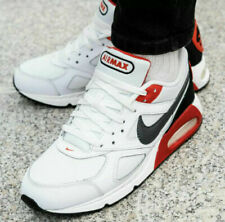White Nike Air Max Ivo Athletic Shoes