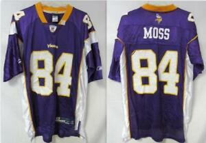 Minnesota Vikings Randy Moss #84 Jersey, Mens, Size Medium C1 1264
