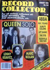 RECORD COLLECTOR Magazine - Aug 1991 No.144, Queen, Marc Bolan, Neil Young, Abba