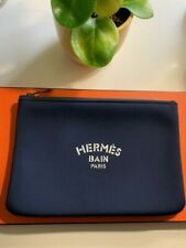 Authentic HERMES Neobain Navy Pouch Clutch