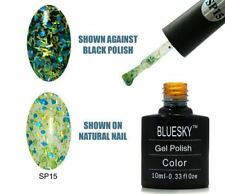 Bluesky UV LED Soak Off Nail Polish SP15 Blue Green 10ml