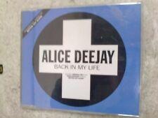 ALICE DEEJAY - BACK IN MY LIFE - CD SINGLE - (R12)