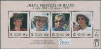 Pitcairn Islands 1998 SG534 Diana Princess Of Wales MS MNH