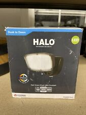 Halo FSL503TIB Single Head Bronze LED Dusk-Dawn Flood Light Select Color Temp