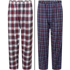 Mens Womens Pyjama Lounge Pants Loungewear Ladies Flannel PJs Trousers Bottoms