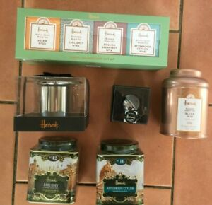 Harrods Loose Leaf Tea Tin or boxed - Tea Infusers/strainers boxed