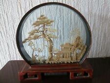 More details for vintage chinese cork diorama