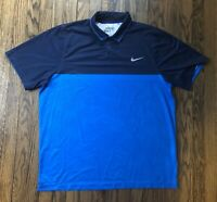 Nike Golf Tour Performance Mens Dri Fit Short Sleeve Polo Shirt Size XL