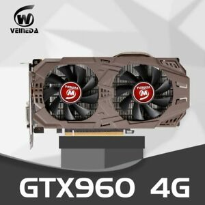 PC Video Card Original GTX 960 4GB 128Bit GDDR5 Graphics Cards for nVIDIA VGA