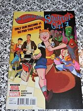 """Marvel - #1 The Unbeatable Squirrel Girl Comic Book 12/15 """"Our Second #1 So Far"""""""