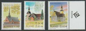 Aland 2001 Church MNH stamps