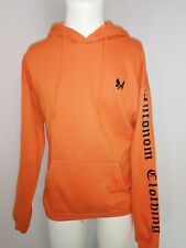 Neuer Autonom Clothing Hoodie Kapuzenpullover Orange Gr S Overzised