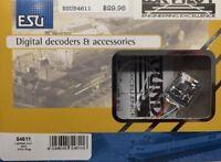 ESU 54611 LokPilot V4.0 DCC Mobile Decoder NEM652 NMRA 8 Pin plug  MODELRRSUPPLY