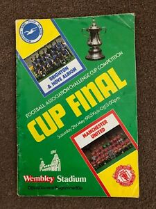 1983 FA Cup Final & Replay Programmes