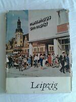 Leipzig -  DDR-Bildband von W. G. Heyde und Heinz Rusch, mehrsprachig, 1965