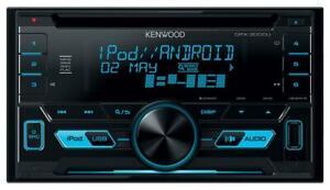 Kenwood DPX-3000U - Doppel-DIN CD/MP3-Autoradio mit USB iPod AUX-IN - DPX 3000U