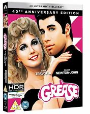 Grease (4K Ultra HD + Blu-ray (40th Anniversary)) [Blu-ray] Official Gift Idea