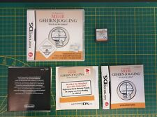 GAMEBOY GAME BOXED OVP SPEL MEHR GEHIRN-JOGGING  3DS DS DSI 2DS NTR-ANMP-EUR