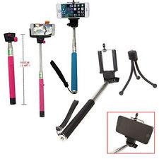 Selfie Bastone Monopiede Telescopico Cellulare Smart Phone Samsung Videocamera iPhone Maniglia