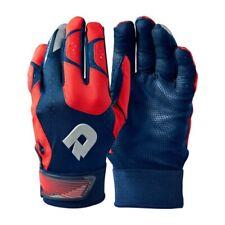 DeMarini CF Batting Gloves WTD6114 - Navy/Scarlet - XL
