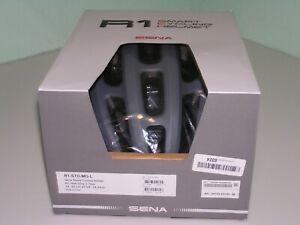 SENA R1 Smart Communications Helmet matt gray size large R1-STD-MG-L