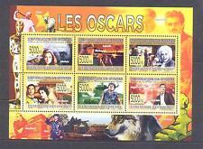 GUINEA 2008, Butterflies (caterpillar), Oscars, set of 6(MS), MNH**(29)
