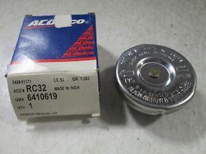 ACDelco RC32  Radiator Cap Chev. GMC Truck 1971-82 Closed System  GM# 6410619